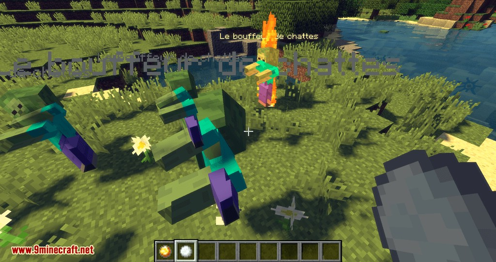 More Snowballs mod for minecraft 05