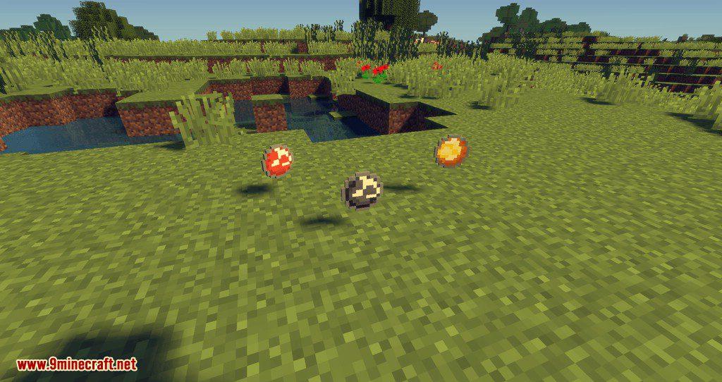 More Snowballs mod for minecraft 09