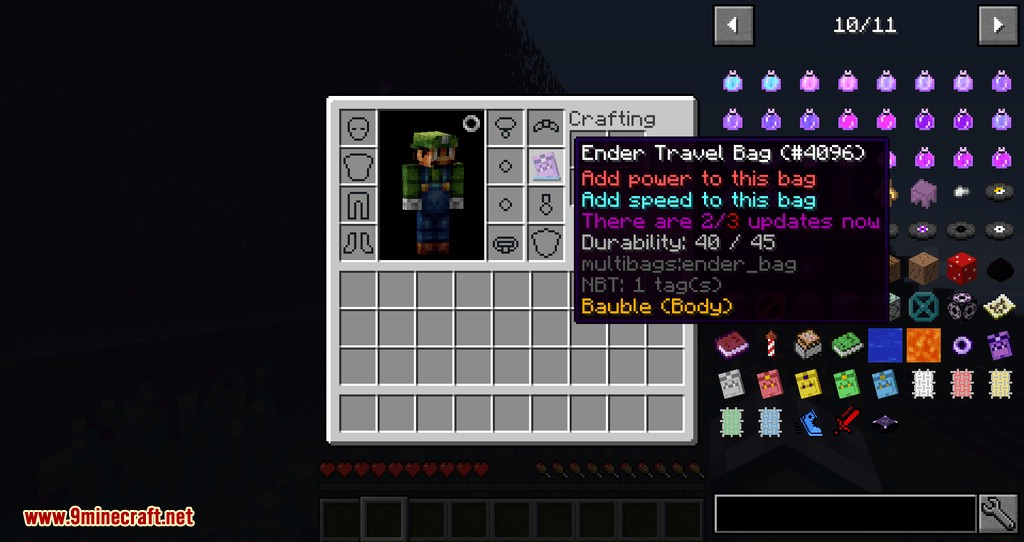 MultiBags mod for minecraft 07