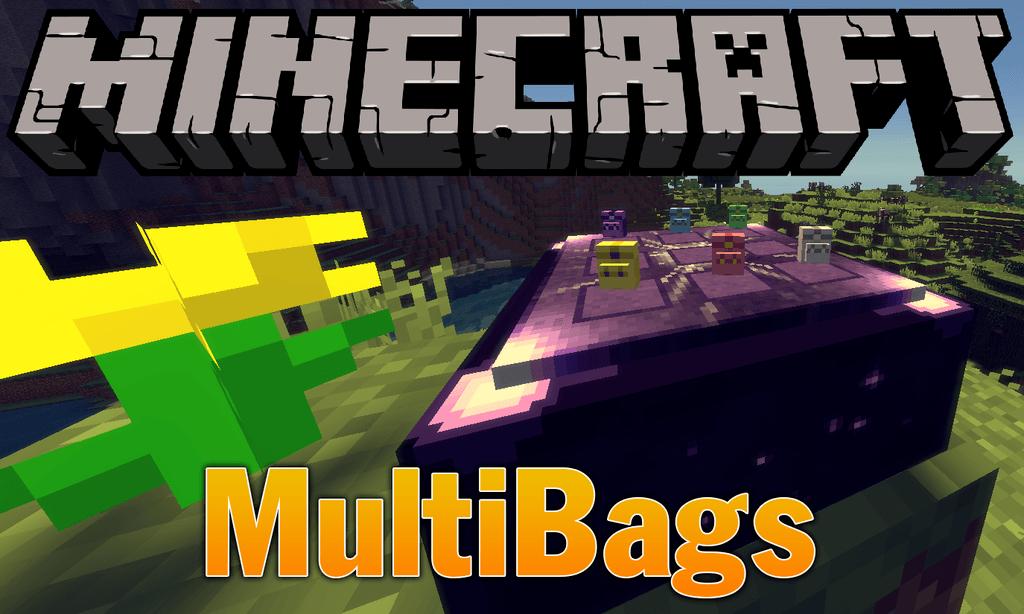 MultiBags mod for minecraft logo