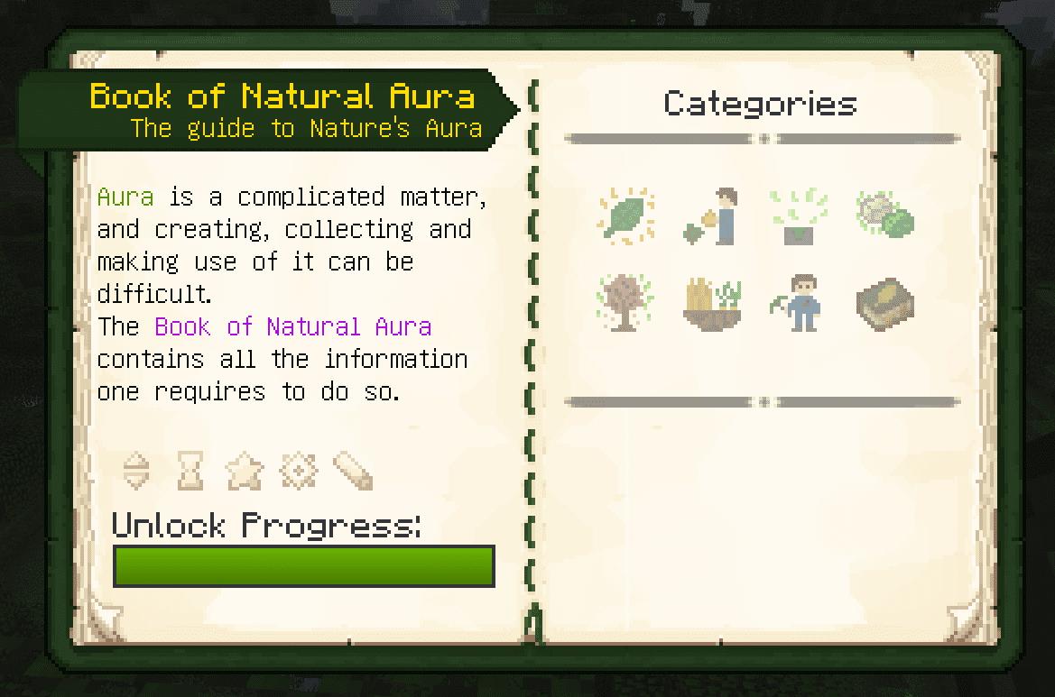 Nature's Aura Mod Crafting Recipes 2