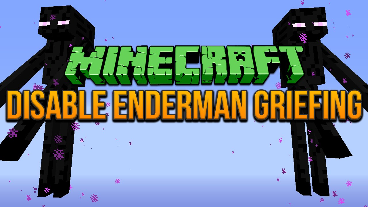 No Endermen Griefing Data Pack Thumbnail
