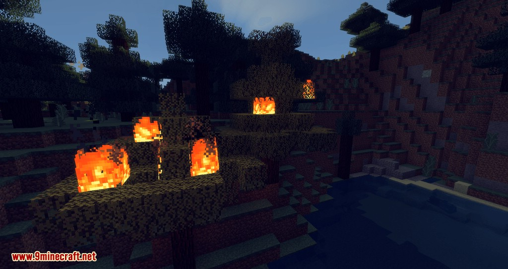 No Fire Spread mod for minecraft 04