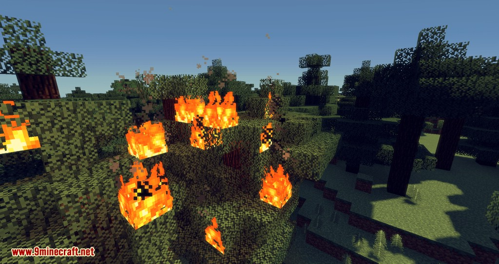 No Fire Spread mod for minecraft 08