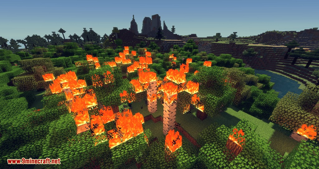 No Fire Spread mod for minecraft 09