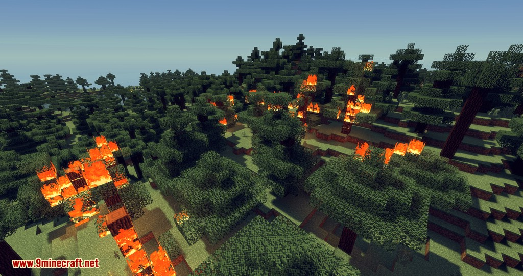 No Fire Spread mod for minecraft 10