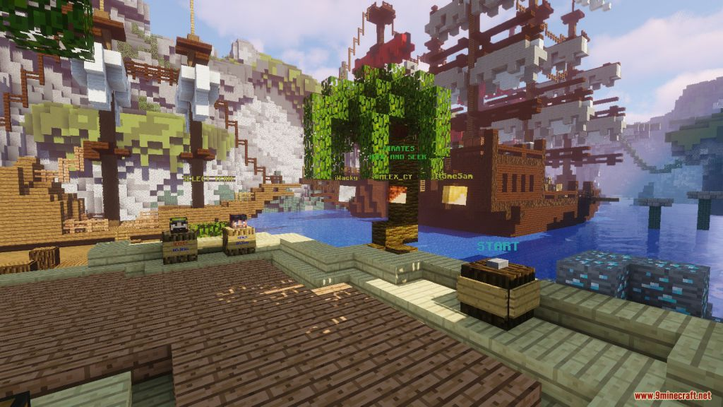 Pirates Hide And Seek Map 1 13 2 for Minecraft 9Minecraft Net