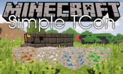 Simple TCon mod for minecraft logo