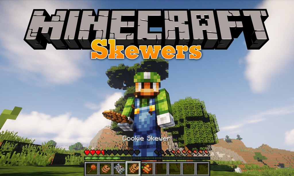 Skewers mod for minecraft logo