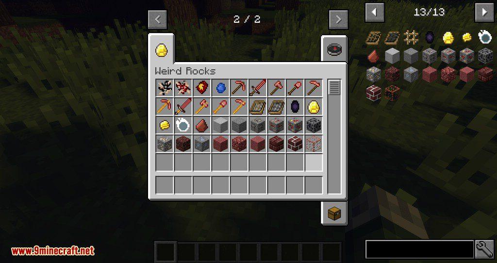 Subterranean Switcheroo mod for minecraft 01