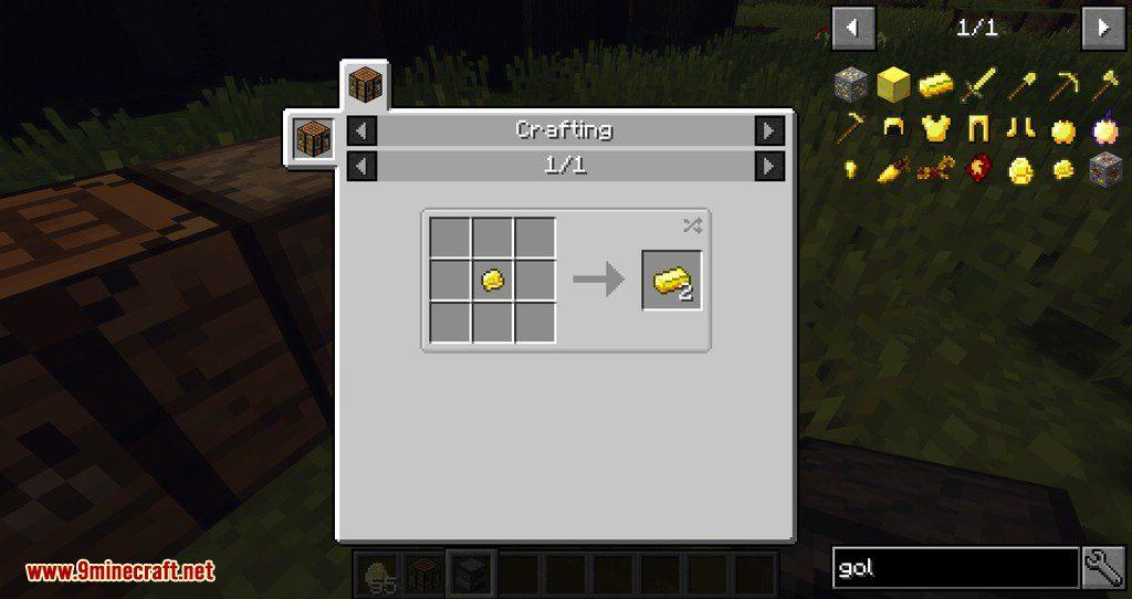 Subterranean Switcheroo mod for minecraft 06