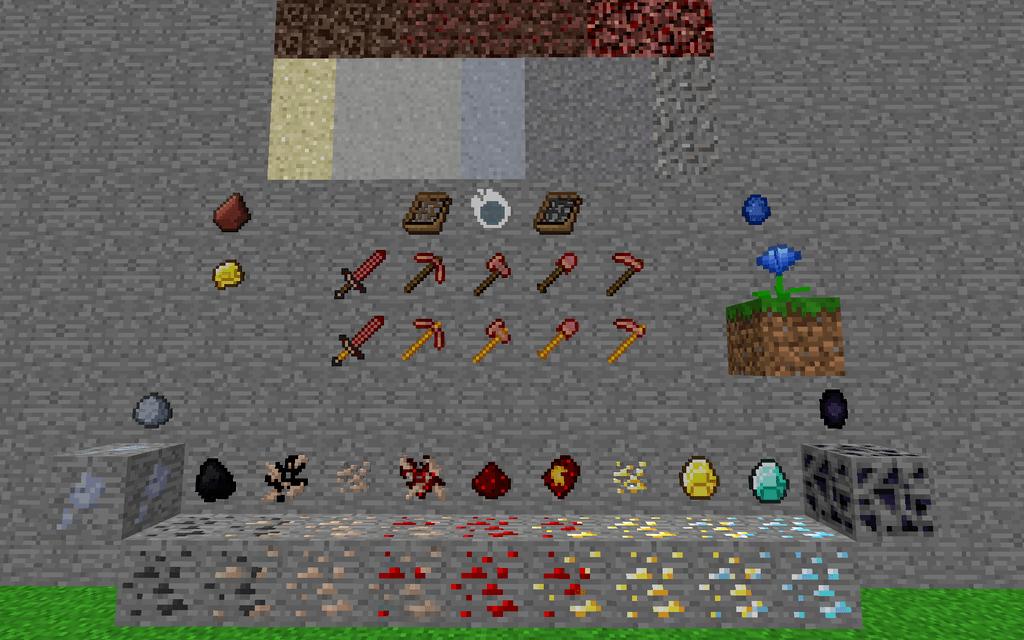 Subterranean Switcheroo mod for minecraft 12