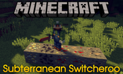 Subterranean Switcheroo mod for minecraft logo