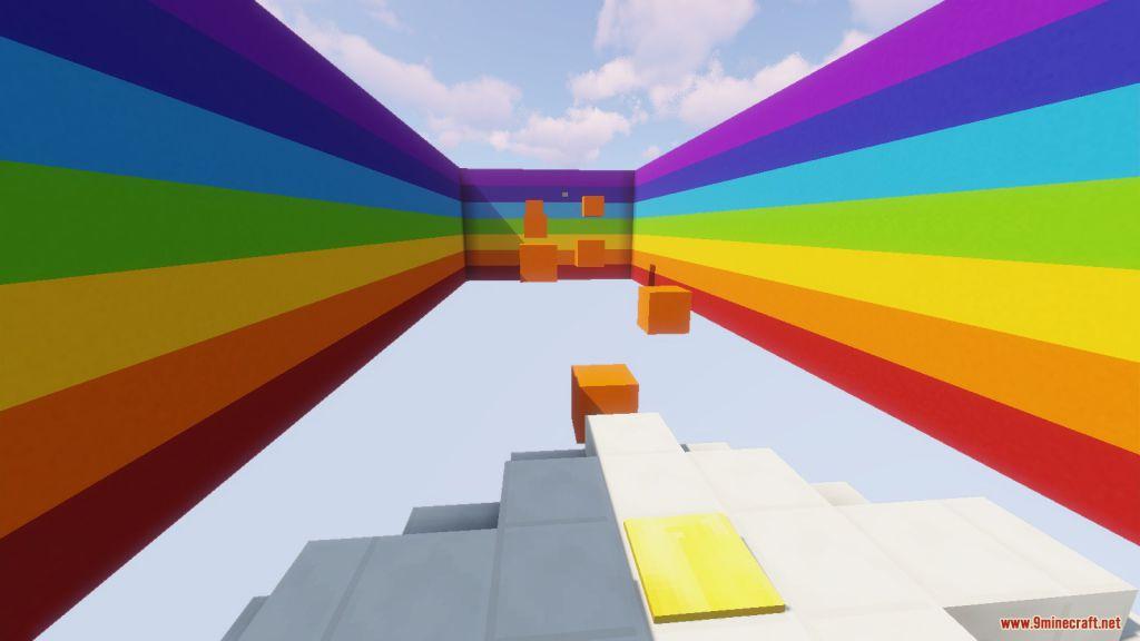 The Rainbow Parkour Map Screenshots (4)