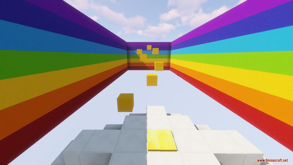 The Rainbow Parkour Map Screenshots (5)
