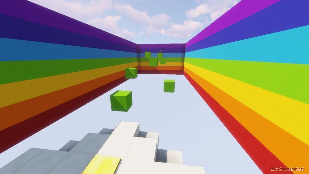 The Rainbow Parkour Map Screenshots (6)