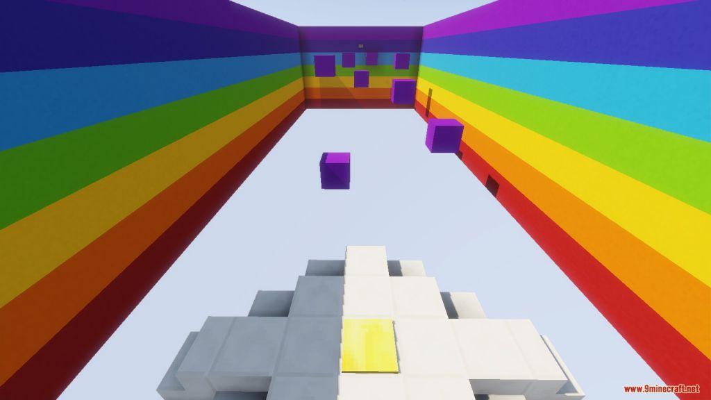 The Rainbow Parkour Map Screenshots (9)