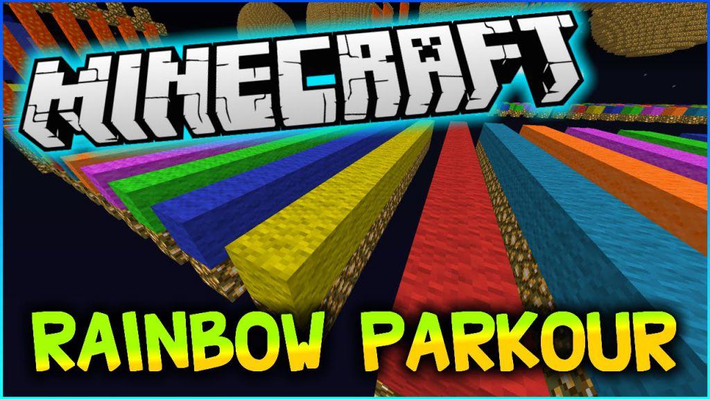 The Rainbow Parkour Map Thumbnail