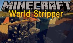 World Stripper mod for minecraft logo