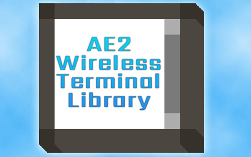 AE2 Wireless Terminal Library