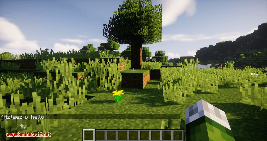 Chat Overhaul mod for minecraft 03
