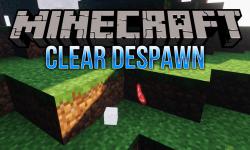 Clear Despawn mod for minecraft logo