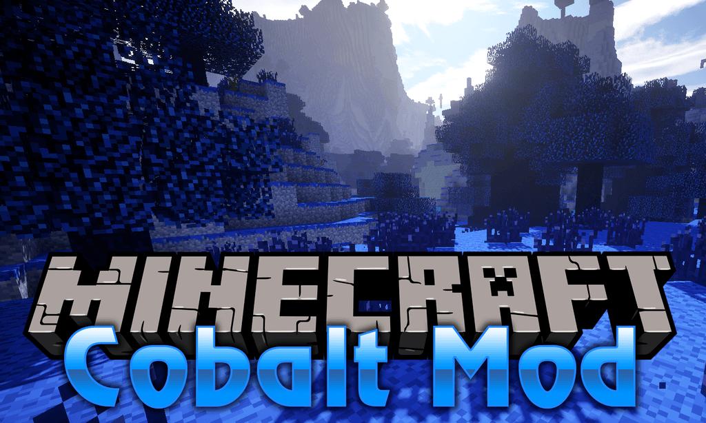 Cobalt Mod for minecraft logo