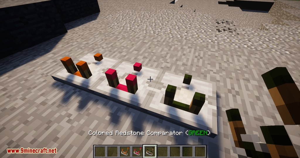 Colored Redstone mod for minecraft 10