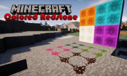 Colored Redstone mod for minecraft logo