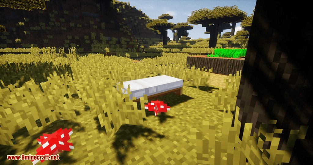 Cosmetic Beds mod for minecraft 04