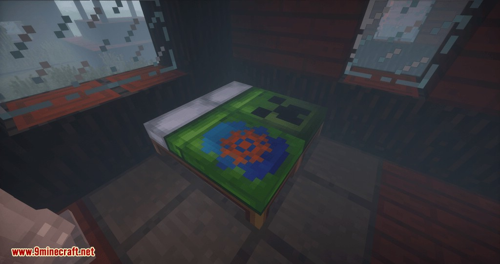 Cosmetic Beds mod for minecraft 11