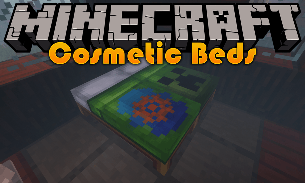 Cosmetic Beds mod for minecraft logo