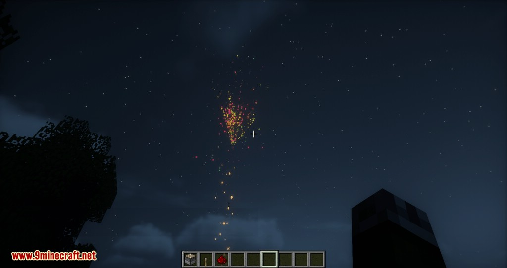 how to make fireworks in creative minecraft