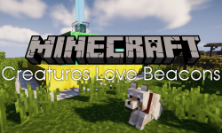 Creatures Love Beacons mod for minecraft logo