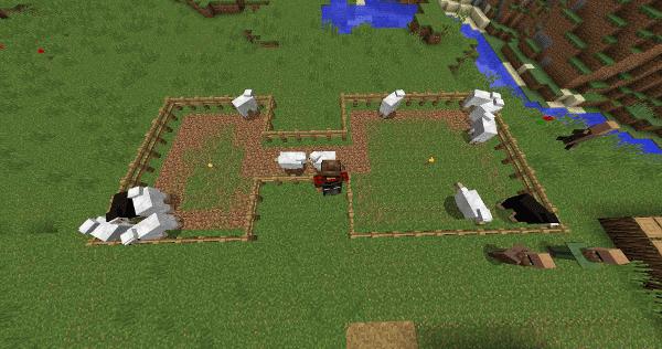 Desire Paths mod for minecraft 21