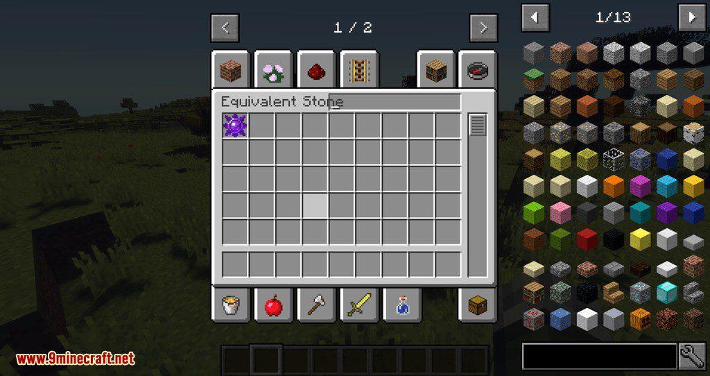 Equivalent Stone mod for minecraft 01