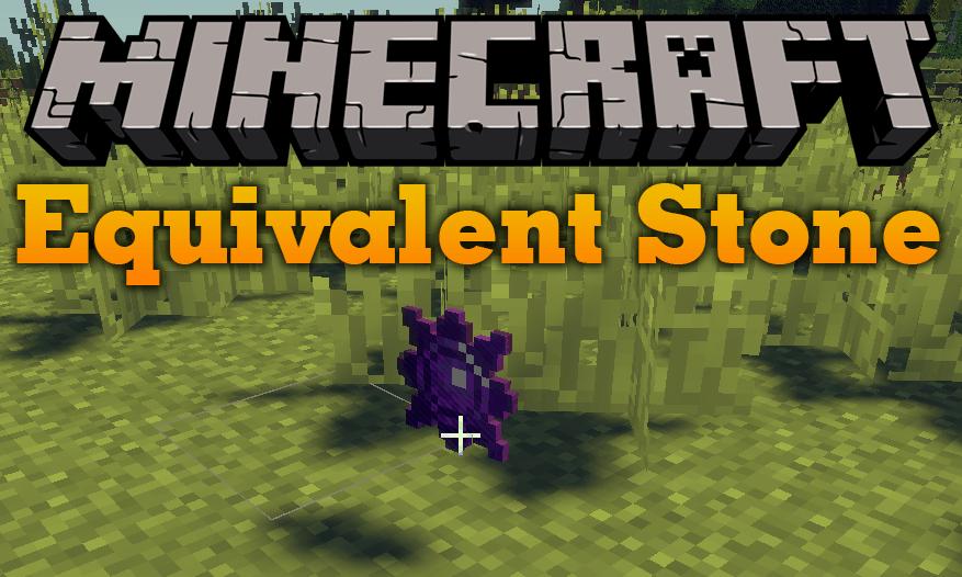 Equivalent Stone mod for minecraft logo