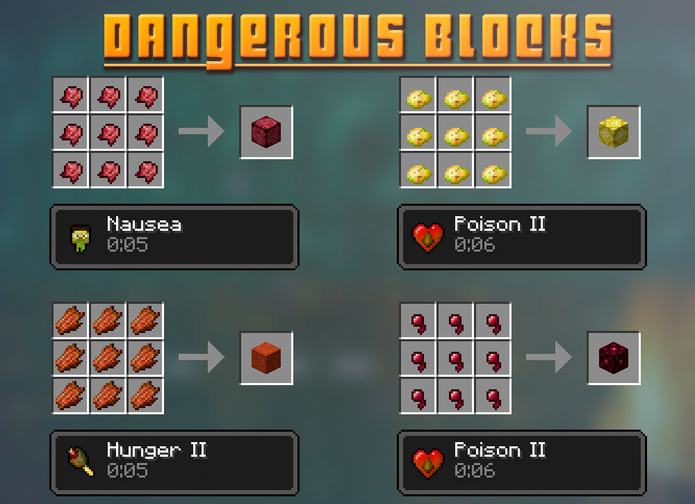 Extra Blocks Mod Crafting Recipes 4