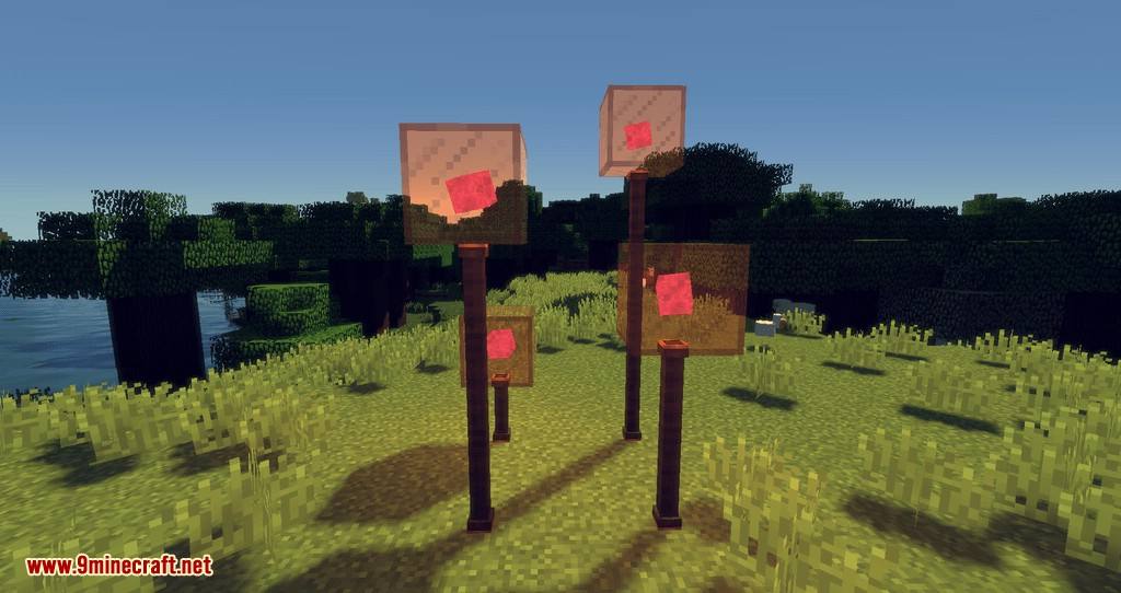 Fancy Lamps mod for minecraft 04