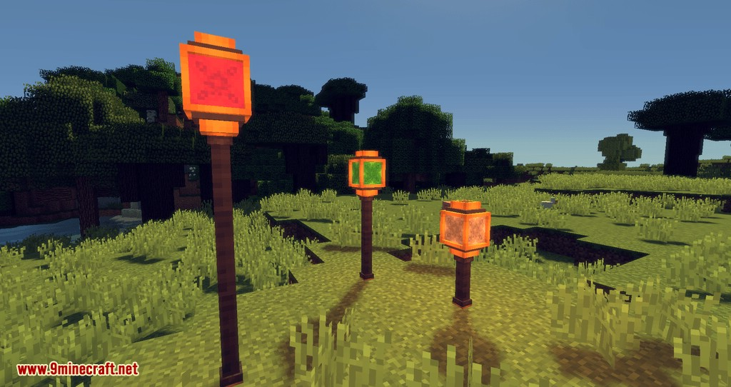 Fancy Lamps mod for minecraft 11