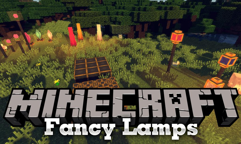 Fancy Lamps mod for minecraft logo