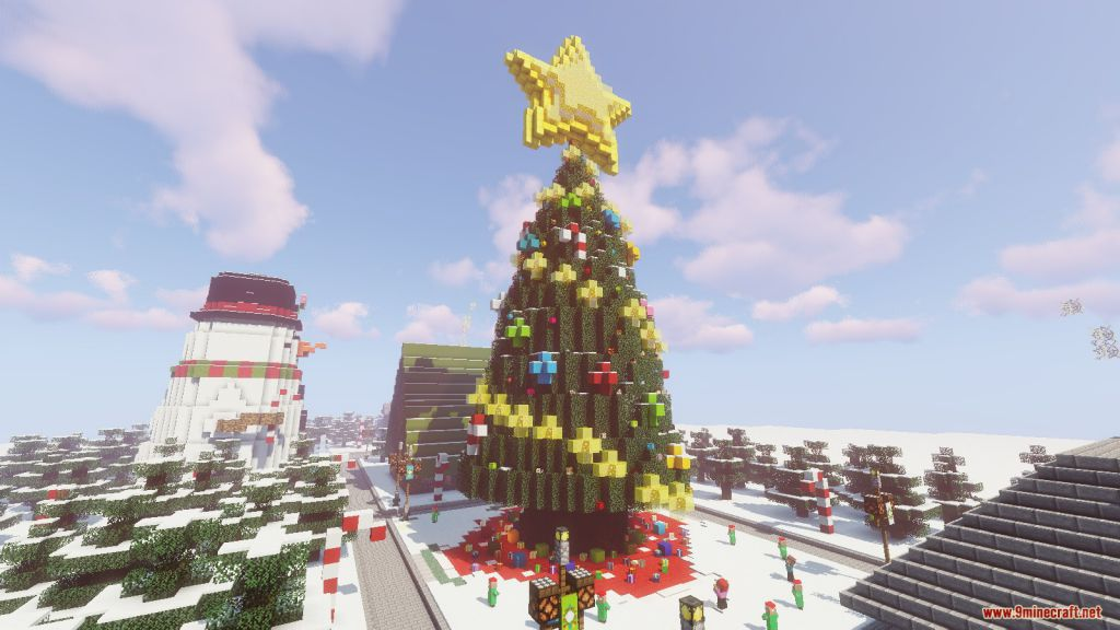 Find The Button Santa's Village Map Screenshots (8)