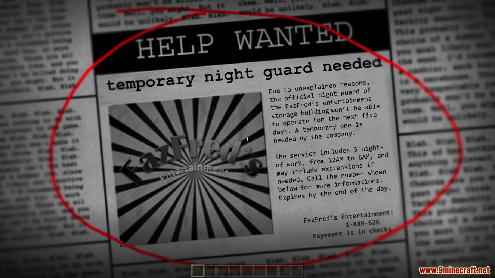 Five Nights in the Dark Map Screenshots 1
