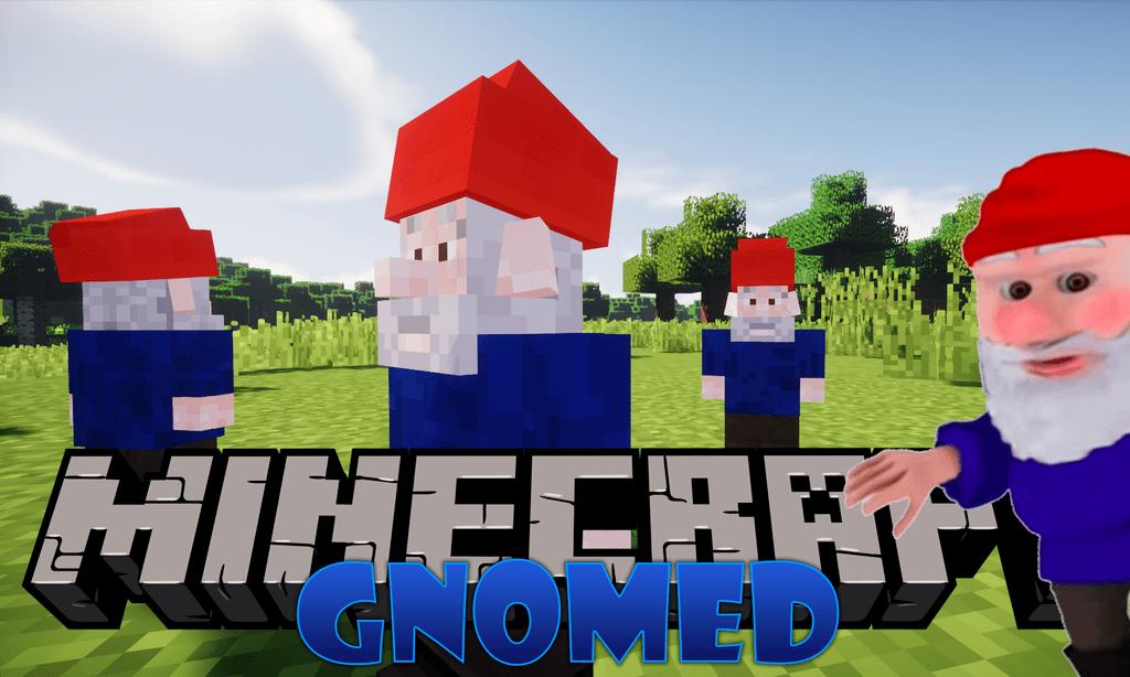 Gnomed mod for minecraft logo