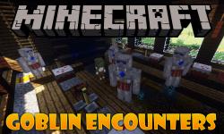 Goblin Encounters mod for minecraft logo