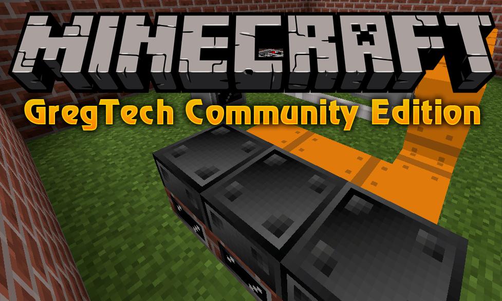 GregTech Community Edition mod for minecraft logo