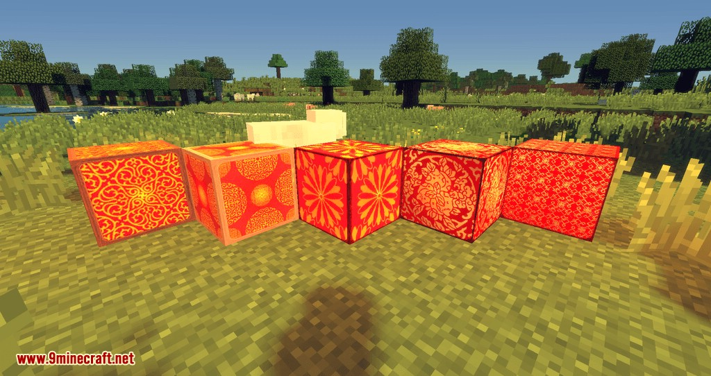 Illustrious Lamps mod for minecraft 02