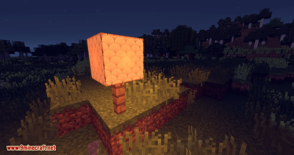 Illustrious Lamps mod for minecraft 04