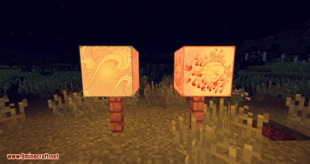 Illustrious Lamps mod for minecraft 05
