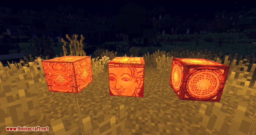 Illustrious Lamps mod for minecraft 07